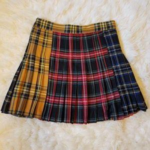 Zara Skirts - Zara Spliced Plaid Skirt